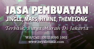 jasa pembuatan lagu mars, jingle, hymne, themesong, soundtrack