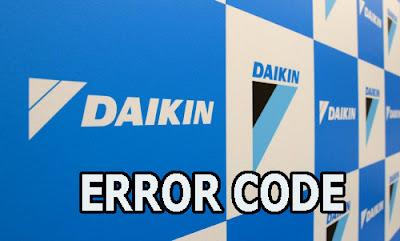 kode error ac daikin A0, kode error daikin A0, penyebab kode error daikin A0