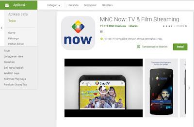 7 Aplikasi Nonton Online Terlengkap