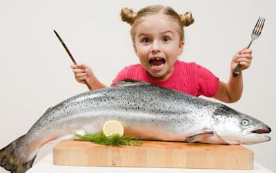 Fish lose pounds