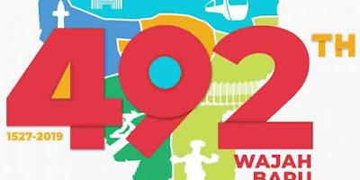 Logo HUT Jakarta Tahun 2019.  Gambar dari Indonesia Inside