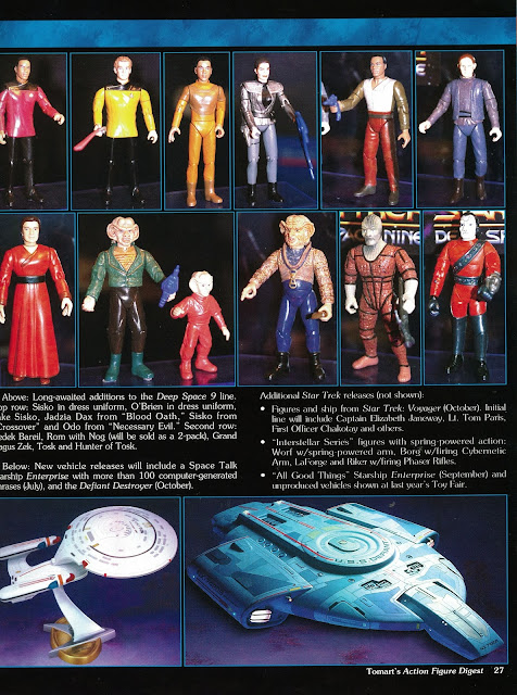 Star Trek Playmates Action Figure Unreleased