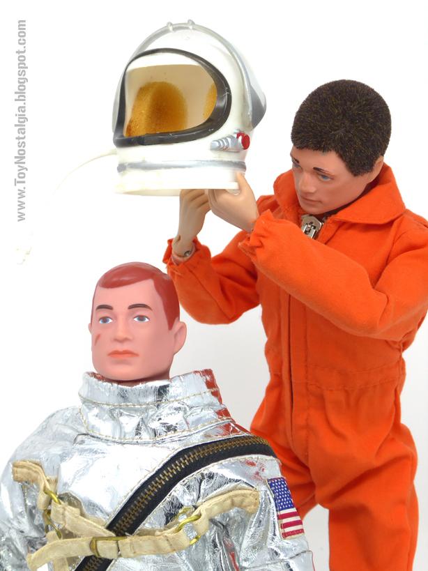ACTIONMAN Astronauta - Traje espacial misión MERCURY (ACTION MAN ASTRONAUT  HASBRO-PALITOY)