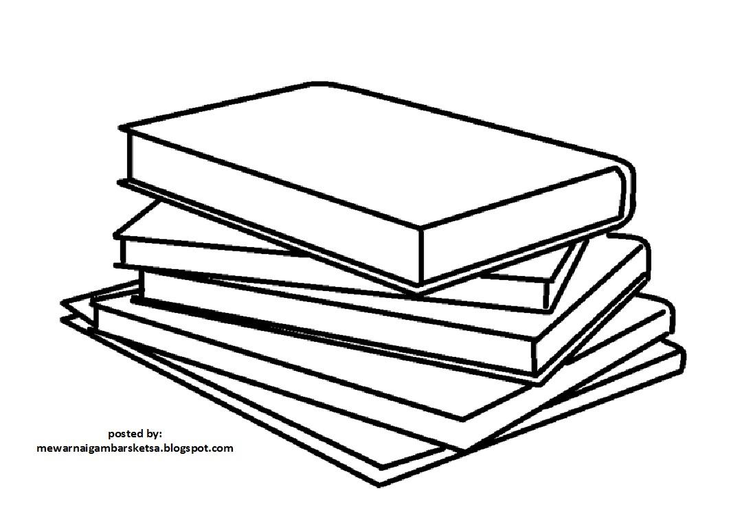 Kumpulan Sketsa Gambar Buku Tulis