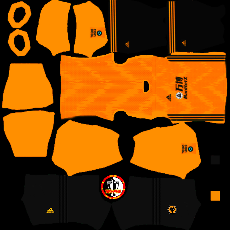 Kits Wolverhampton Wanderers - Dream League Soccer 2021