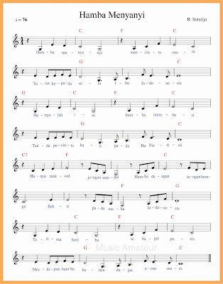 not balok lagu hamba menyanyi