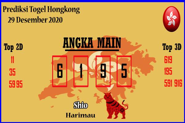 Bocoran Hongkong 29 Desember 2020