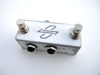 dpFX Pedals - Stutter Switch (stereo/mono) for two FX loops