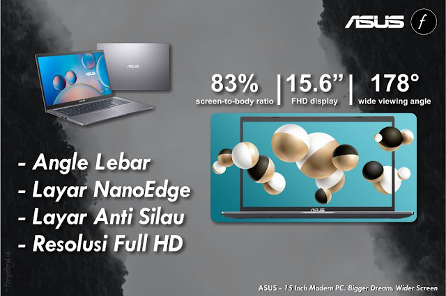 Layar ASUS VivoBook 15 A516