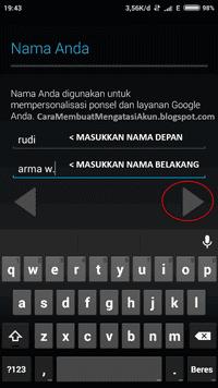 Cara Membuat Email Baru Di Hp Android Dan Tips Daftar Gmail