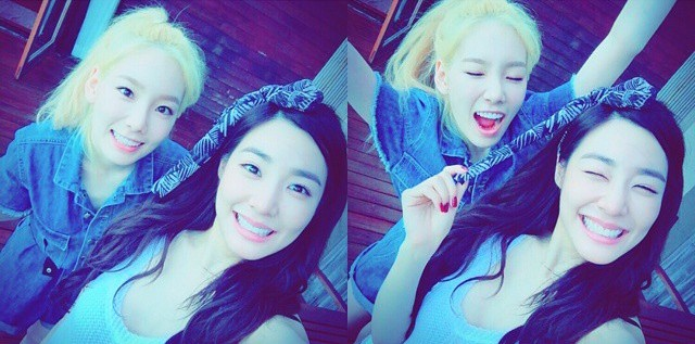 SNSD's TaeYeon and her adorable pictures with Tiffany ...