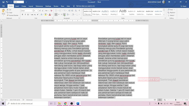 Cara Membuat Layout Koran di Microsoft Word