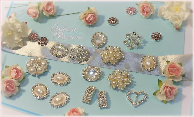 Броши и украшения для свадьбы
