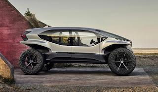 Электрический вездеход Audi AI TRAIL