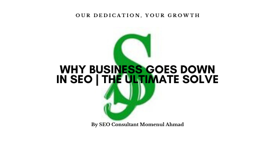 Why business goes down in SEO | The ultimate solve