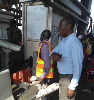 Lekki toll gate cctv removed