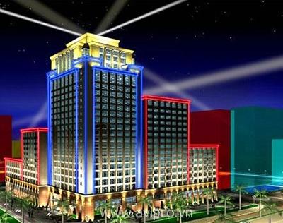 Đèn led tòa nhà