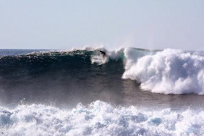 Rob Small surfing La Santa Right