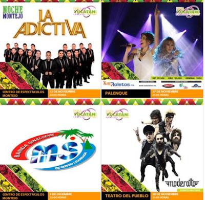 programa feria yucatan xmatkuil 2016