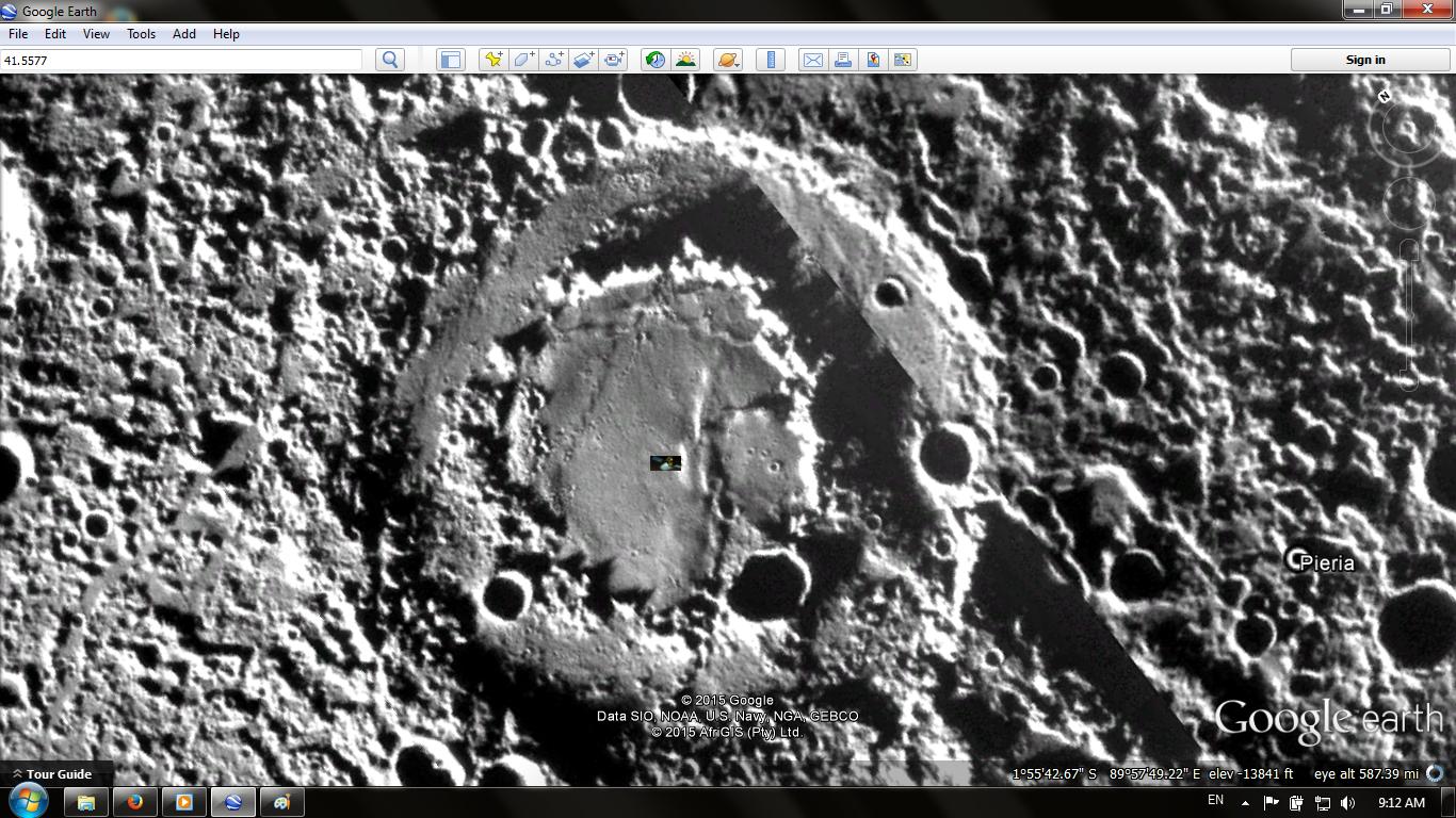 UFO WORLD: Explore Mercury Planet in Google Earth  !!