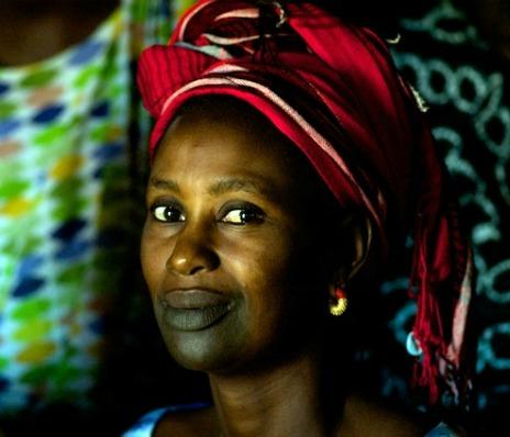 Le tatouage gingival ou jammu : Séduction, tatouage, gencive, bouche, sourire, charme, femme, noire, peul, beauté, tradition, LEUKSENEGAL, Dakar-Sénégal, Afrique