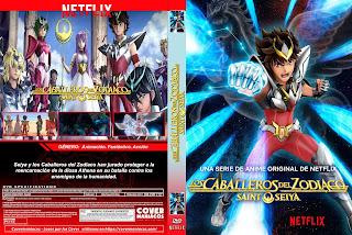 CABALLEROS DEL ZODIACOS SAINT SEIYA 2019 [COVER – SERIES – DVD]