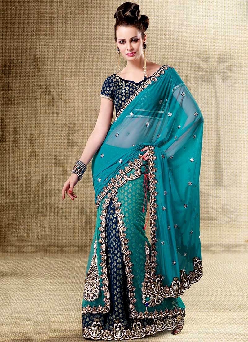 Indian Readymade Saree Designs Stylish Saree Style For