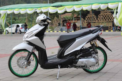 Modifikasi Motor Beat Fi Simple