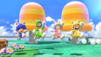لعبة Super Mario 3D World للكمبيوتر