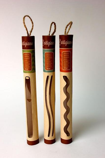 Vitale l'Artigiano Pasta Packaging by Shelby Lueckenotto