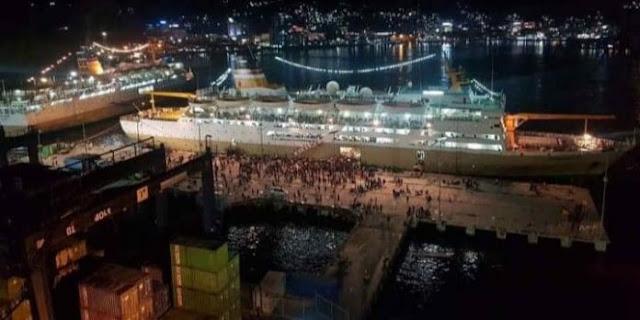 Tercatat 7.658 Penumpang Datang ke Papua : 6.093 Orang di Pelabuhan Jayapura serta 1.565 Orang di Pelabuhan Merauke