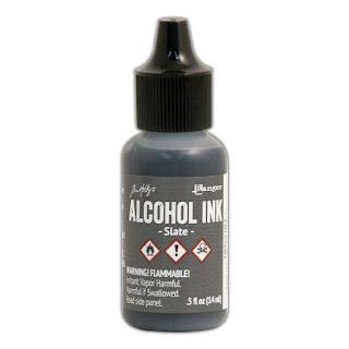 SLATE ALCOHOL INK