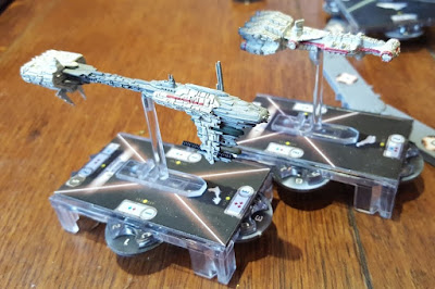 Star Wars Armada Tabletop game frigate