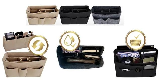 7- Travel-Wizz Handbag Organizer