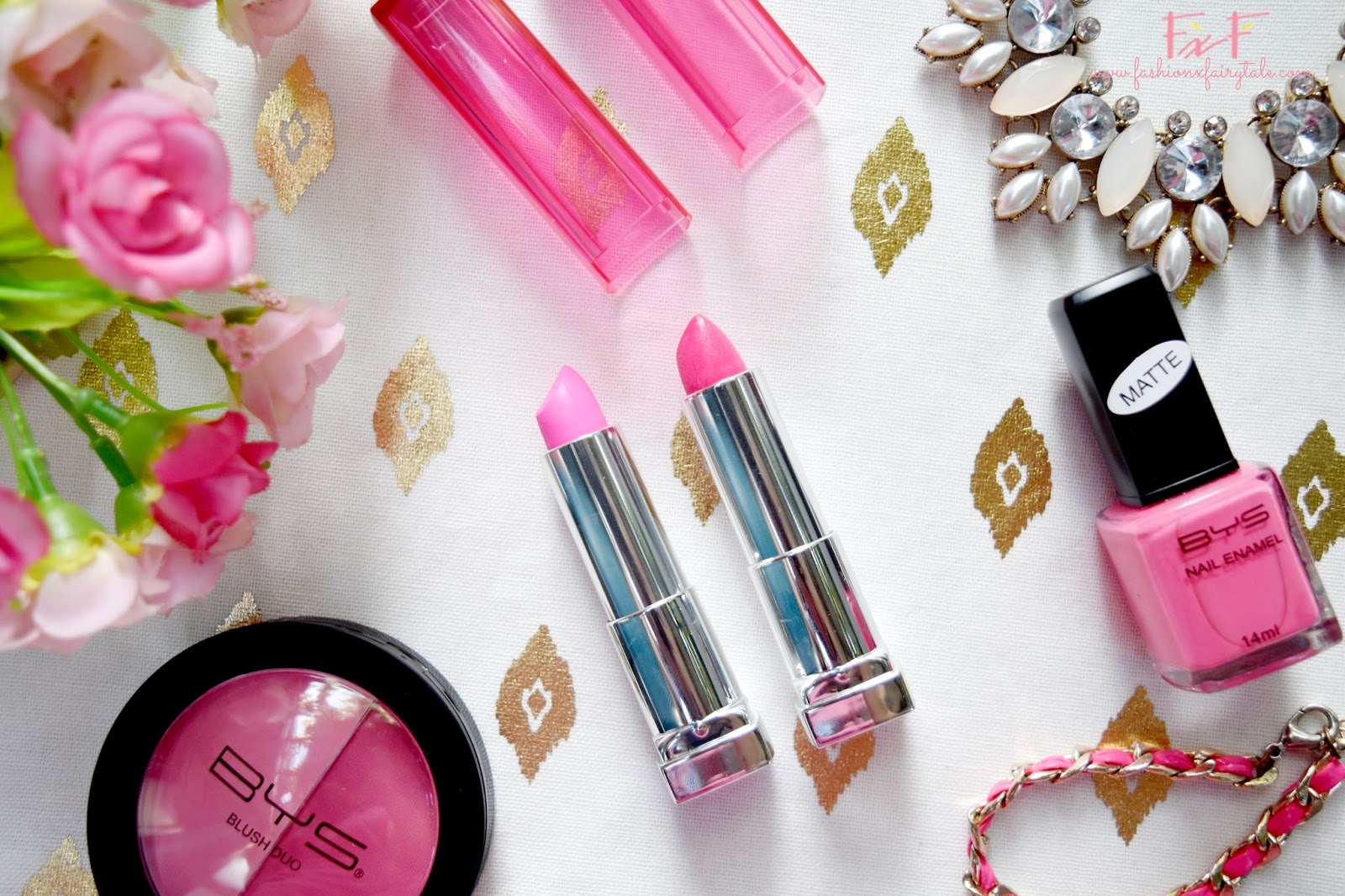 Maybelline Color Sensational Pink Alert Lipstick in POW1 & POW2 | Review & Swatches