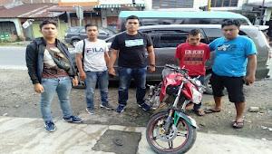 Curi Motor di Tele, Pelaku Ditembak Polisi Samosir di Batu Bara