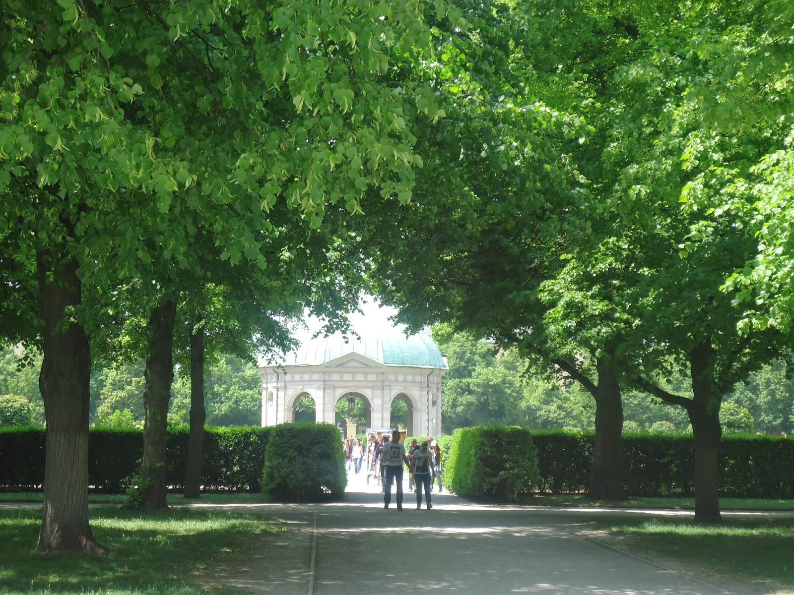 Travel Germany Munich Hofgarten Park