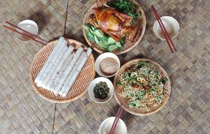 Ẩm thực ở làng Kon Pring