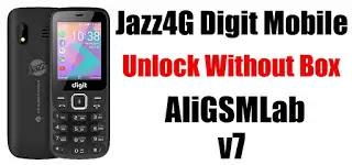 Jazz digit 4g v7 Unlock