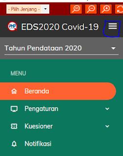 Minimise menu