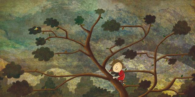"""The world of Minú-ilustración 3-ana sáez del arco-The world of Minú-illustration 3"""