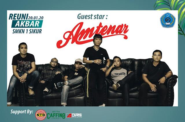 Amtenar Band akan Goyang Panggung Reuni SMKN 1 Sikur