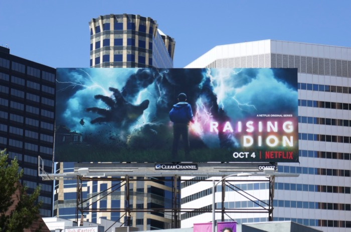 Raising Dion Netflix series billboard