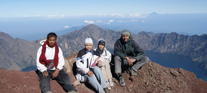 About Mount Rinjani