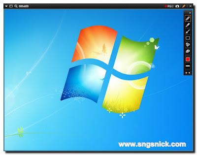 Bandicam 3.4.0 Build 1227 - Инструменты рисования