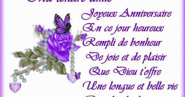 Texte D Anniversaire Pour Ma Meilleure Amie