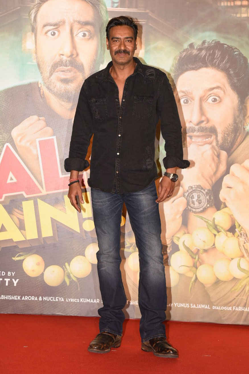 Ajay Devgan, Parineeti Chopra and other Celebrity at 'Golmaal Again' Trailer Launch Event