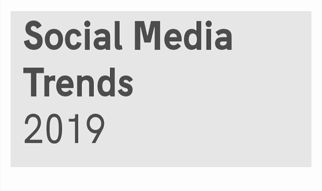 5 Data-backed Social Media Trends of 2019 #infographic