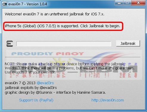 evasion7 version 1.0.4
