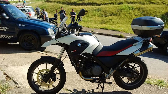 ROMO da Guarda Civil de Santo André localiza dois veículos produto de roubo nas proximidades da Tamarutaca